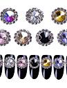 7 Colors,5pcs/Color,Total35pcs/set Glitter / Rhinestones / Nail Jewelry Rhinestone / Sparkle & Shine / Glitter & Sparkle Nail Art Design