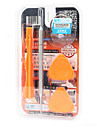 Cell Phone Repair Tools Kit 5 in 1 Screwdriver Suction Cup Plastic/Stianless Steel Pry Replacement Tools