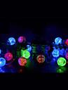 3M Fili luminosi 20 LED LED Dip Bianco caldo / Multicolore 1pc