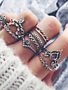 Women\'s Knuckle Ring - Alloy Vintage, Fashion One Size Silver For Party Daily / 10pcs