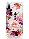 Coque Pour Apple iPhone X iPhone 8 Transparente Motif Coque Fleur Flexible TPU pour iPhone X iPhone 8 Plus iPhone 8 iPhone 7 Plus iPhone