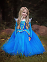 Princess Cinderella Fairytale Dress Kid\'s Christmas Masquerade Birthday Festival / Holiday Halloween Costumes Blue Pink Color Block