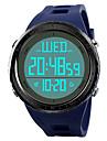 SKMEI Pánské Sportovní hodinky Náramkové hodinky Digitální hodinky japonština Digitální Z umělé kůže Černá / Modrá / Zelená 50 m Voděodolné Alarm Kalendář Digitální Na běžné nošení - Černá / zelen