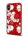 Etui Til Apple iPhone X / iPhone 8 Plus Moenster Bakdeksel Blomsternaal i krystall Myk TPU til iPhone XS / iPhone XR / iPhone XS Max