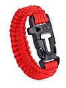 Ropes Outdoor Braided Rope Nylon Fiber Camping / Hiking Camping / Hiking / Caving Red 1 pcs
