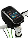 ROSWHEEL Bolsa Celular Bolsa para Guidao de Bicicleta 5 polegada Multifuncional Sensivel ao Toque Ciclismo para Samsung Galaxy S6 LG G3