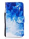 Кейс для Назначение Apple iPhone X iPhone 8 Plus Бумажник для карт Кошелек со стендом Флип С узором Чехол Животное Твердый Кожа PU для