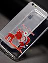 Capinha Para Apple iPhone X iPhone 8 iPhone 8 Plus iPhone 7 Capinha iPhone 5 iPhone 6 Estampada Capa Traseira Natal Macia TPU para iPhone