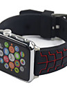 Bracelet de Montre  pour Apple Watch Series 3 / 2 / 1 Apple Bracelet Sport Silikon Sangle de Poignet