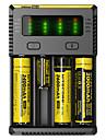 NEW-I4 Carregador de Bateria Lanternas Acessorios Portatil Profissional Alta qualidade Plastico para