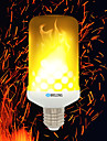 BRELONG® 1pc 4W 700lm E14 E27 B22 LED Corn Lights 99 LED Beads SMD 2835 Flame Effect Warm White 85-265V
