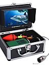 30m 1000tvl onderwatervissen videocamerakit 6 stks led-verlichting met 7 inch kleurenmonitor