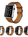Bracelet de Montre  pour Apple Watch Series 4/3/2/1 Apple Bracelet en Cuir Vrai Cuir Sangle de Poignet
