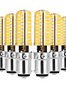 YWXLIGHT® 6pcs 7W 600-700lm E14 G9 G4 BA15D LED Bi-pin Lights T 80 LED Beads SMD 5730 Dimmable Decorative Warm White Cold White 110-130V