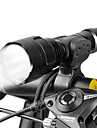 LED Flashlights / Torch Front Bike Light LED Cycling Adjustable Focus 18650 Lumens Battery Camping/Hiking/Caving Everyday Use