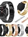 Watch Band için Gear S3 Classic Samsung Galaxy Spor Bantları Metal Bilek Askısı