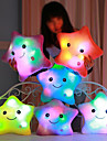Luminous pillow Led Light Pillow Start Shape ロマンティック ぬいぐるみ / プラッシュ かわいい 快適 女の子 おもちゃ ギフト