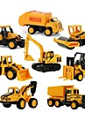 Mini Alloy engineering Car Truck Construction Truck Set Toy Truck Construction Vehicle Toy Car 1:64 8 pcs Kid\'s Boys\' Girls\' Toy Gift
