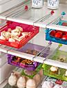 1set Ράφια & Στγρίγματα Πλαστικό Δημιουργική Κουζίνα Gadget Οργάνωση κουζίνας