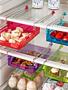 1SET الرفوف وشمعدانات البلاستيك المطبخ الإبداعية أداة مطبخ