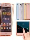 Coque Pour Huawei P10 Plus / P10 Lite Ultrafine / Translucide Coque Integrale Couleur Pleine Flexible TPU pour P10 Plus / P10 Lite / P10
