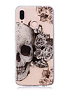 Case For Huawei P20 Pro / P20 lite IMD / Transparent / Pattern Back Cover Skull Soft TPU for Huawei P20 / Huawei P20 Pro / Huawei P20 lite / P10 Plus / P10 Lite / P10