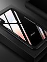 Coque Pour Apple iPhone X Antichoc Miroir Coque Couleur Pleine Dur Verre Trempe pour iPhone X iPhone 8 Plus iPhone 8 iPhone 7 Plus iPhone