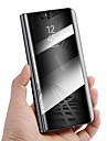 Capinha Para Huawei Mate 10 lite Mate 10 pro Antichoque Com Suporte Espelho Auto Dormir/Despertar Capa Protecao Completa Solido Rigida PU