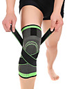 Knee Brace for Basketball / Running Unisex Moisture Wicking / Breathable / Stretchy Sports & Outdoor Lycra Spandex / Nylon 1 pc Green