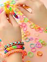 Mulheres Colorido Bricolage Confeccionada a Mao Presilha Dentada para Cabelos Elastico para Cabelos Bandana - Basico