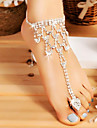 Anklet / Toe Ring Drop Simple, Fashion Women\'s Silver Body Jewelry For Wedding / Going out