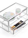 пластик Прямоугольная Новый дизайн Главная организация, 1шт Ящики / Хранение косметики / Органайзеры для стола