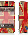 1 pc Skin Sticker for Scratch Proof Flag Pattern PVC iPhone 4/4s