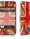 1개 스킨 스티커 용 스크래치 방지 국기 패턴 PVC iPhone 4/4s