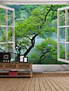 Arkkitehtuuri Wall Decor Polyesteri Vintage Wall Art, Seinävaatteet Koriste