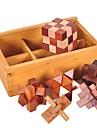 Luban Geduldspiel andere Fokus Spielzeug Holz / Bambus 1pcs Erwachsene / Kinder Alles Geschenk