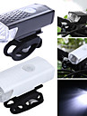 Front Bike Light LED Cycling Portable / Waterproof / Lightweight 400lm Lumens Rechargeable Batteries White Camping / Hiking / Caving /