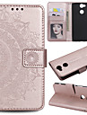 Case For Sony Xperia L2 Xperia L1 Card Holder Wallet Flip Full Body Cases Flower Hard PU Leather for Sony Xperia Z3 Sony Xperia Z5 Xperia