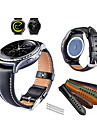 Watch Band for Gear Sport / Gear S2 Classic Samsung Galaxy Sport Band Genuine Leather Wrist Strap