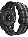 צפו בנד ל Fenix 5x / Fenix 3 HR / Fenix 3 Garmin רצועת ספורט ניילון רצועת יד לספורט