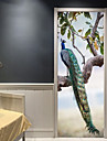 Decorative Wall Stickers / Door Stickers - Holiday Wall Stickers Animals / 3D Living Room / Bedroom