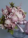 زهور اصطناعية 1 فرع كلاسيكي فردي الزفاف الفاوانيا أزهار الطاولة