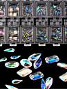 100 pcs Nail Schmuck Modisches Design / Kreativ / Kristalle Nagel Kunst Manikuere Pedikuere Freizeitskleidung / Praxis Stilvoll