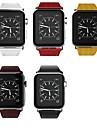 Watch kapela pro Apple Watch Series 4/3/2/1 Apple Kožená smyčka Pravá kůže Poutko na zápěstí