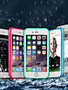 Custodia Per Apple iPhone X / iPhone 8 Plus Impermeabile / Resistente agli urti Integrale Tinta unita Morbido TPU per iPhone X / iPhone 8 Plus / iPhone 8