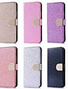 Case For Huawei P20 Pro / P20 lite Card Holder / Rhinestone / with Stand Full Body Cases Glitter Shine Hard PU Leather for Huawei P20 / P10 Lite / P10