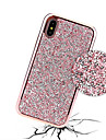 Custodia Per Apple iPhone X / iPhone 8 Con diamantini / Placcato Per retro Glitterato Resistente PC per iPhone X / iPhone 8 Plus / iPhone 8
