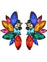 Mulheres Lustres Brincos Curtos - Na moda Branco / Arco-iris Para Mascarilha Feriado