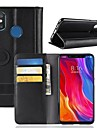 Case For Xiaomi Mi 8 / Mi 8 SE Wallet / Card Holder / with Stand Full Body Cases Solid Colored Hard Genuine Leather for Xiaomi Redmi Note 5 Pro / Xiaomi Redmi Note 5 / Xiaomi Redmi Note 4X