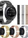 Watch Band için Gear Sport Samsung Galaxy Spor Bantları Paslanmaz Çelik Bilek Askısı